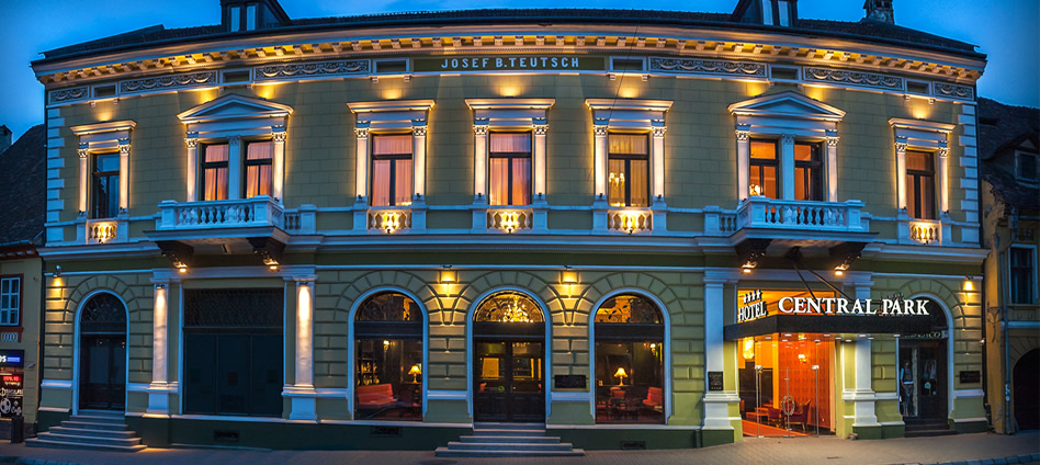 The best of transylvania for Central reservation hotel